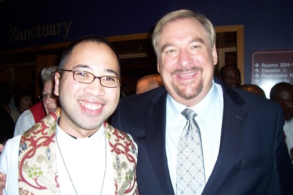 Lumanog and Rick Warren